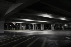 photography of empty parking lot